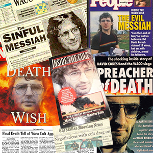 david koresh vilified in media